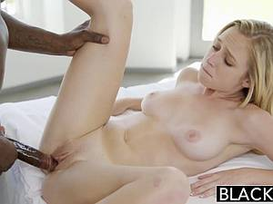 Taylor White trying out her first black erection