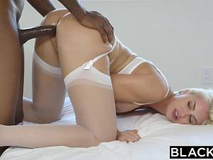 Sexy Gigi Allens loved with passion by ebony man